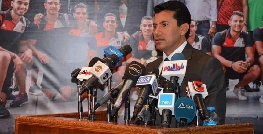 وزير الرياضة عن إنجاز الأرجنتين: خطوة مهمة قبل أولمبياد طوكيو