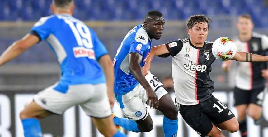 خطة الشرطة الإيطالية لتأمين مباراة يوفنتوس ونابولي في الدوري