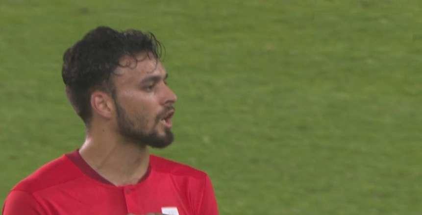 صلاح محسن يخرج غاضبا من مباراة مصر وأستراليا: «مفيش غيري كل مرة تطلعني»
