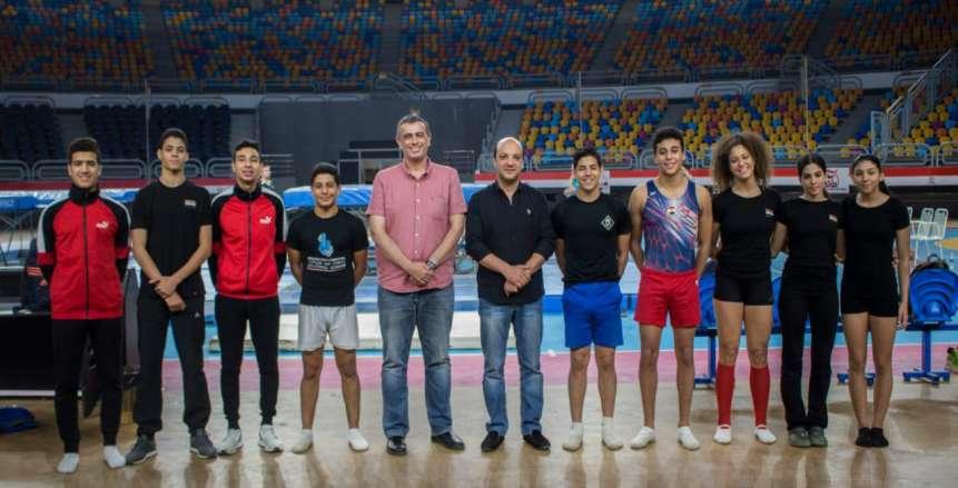 غدا| انطلاق البطولة الأفريقية للجمباز المؤهلة لأولمبياد الشباب بالقاهرة