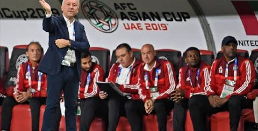 «زاكيروني» يعلن نهاية مهمته مع منتخب الإمارات بعد توديع كأس أمم آسيا