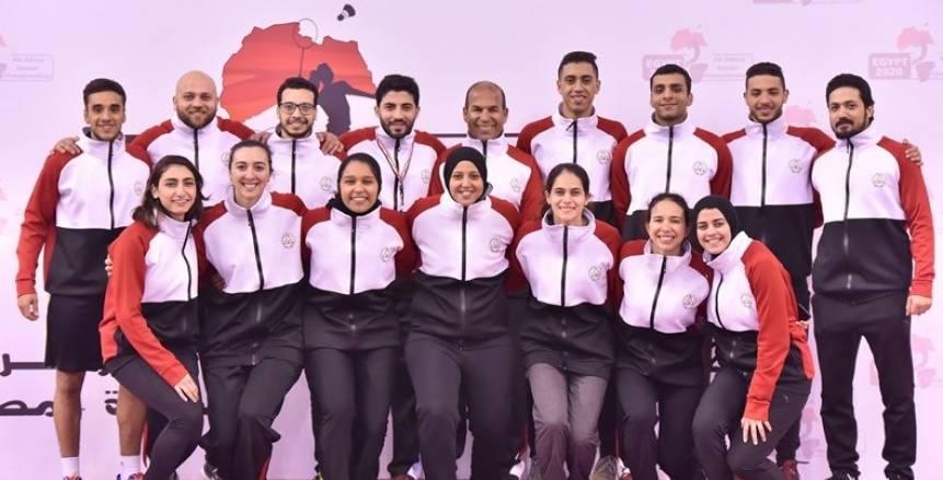 منتخب الريشة الطائرة يتأهل لبطولة العالم للفرق بالصين