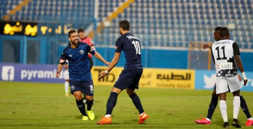 عبدالله السعيد وأحمد فتحي يقتربان من المشاركة مع بيراميدز ضد راسينج