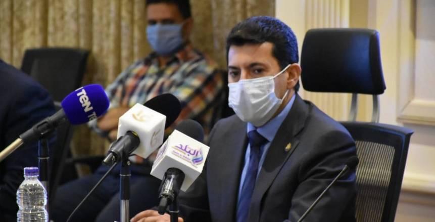 أشرف صبحي: الشباب هم الضمانة الأساسية للحفاظ على الهوية العربية