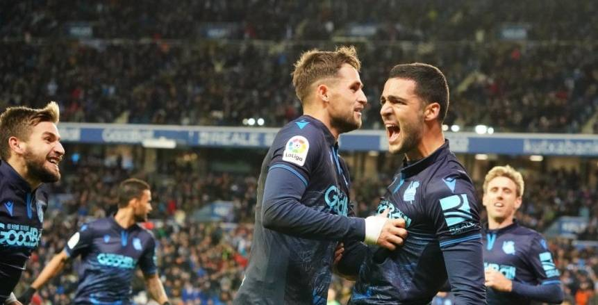 ريال سوسيداد يتصدر الدوري الإسباني مؤقتا بتعادله مع ليجانيس
