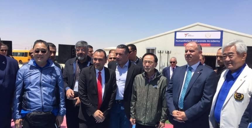 وفد مصري في الأردن لاختيار بطل رياضى من مخيمات اللاجئين للمشاركة في الأولمبياد