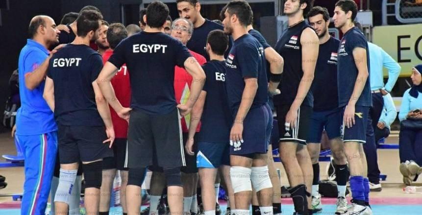 الحصرى  يناشد المصريين بمؤازرتهم أمام اليابان في افتتاح بطولة العالم للطائرة