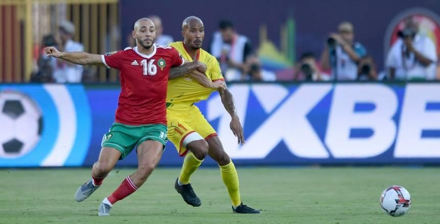 دور الـ16.. مباراة المغرب وبنين