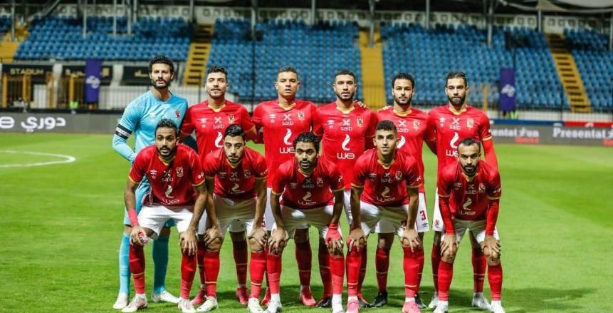 التشكيل الرسمي لمباراة الأهلي والاتحاد في الدوري المصري.. مروان أساسيا