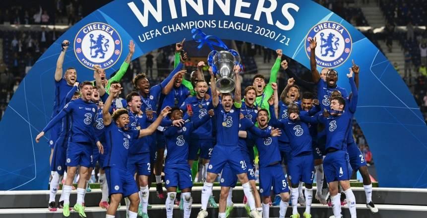 تتويج تشيلسي بلقب دوري أبطال أوروبا لموسم 2020-2021