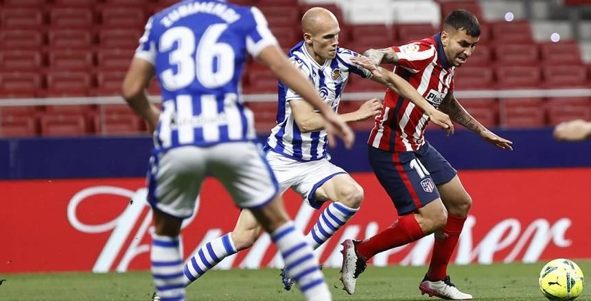 أخبار الدوري الإسباني: أتلتيكو يواصل صدارته بفوز مهم أمام ريال سوسيداد