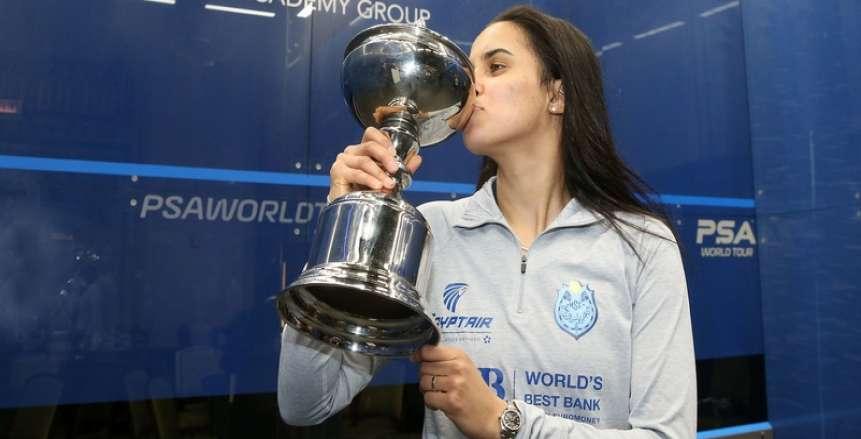 نور الطيب تفوز على سلمى هاني في دور الـ 16 ببطولة الجونة الدولية للإسكواش