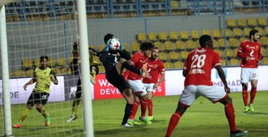 الأهلي يفوز على وادي دجلة 2-1 بالدوري المصري
