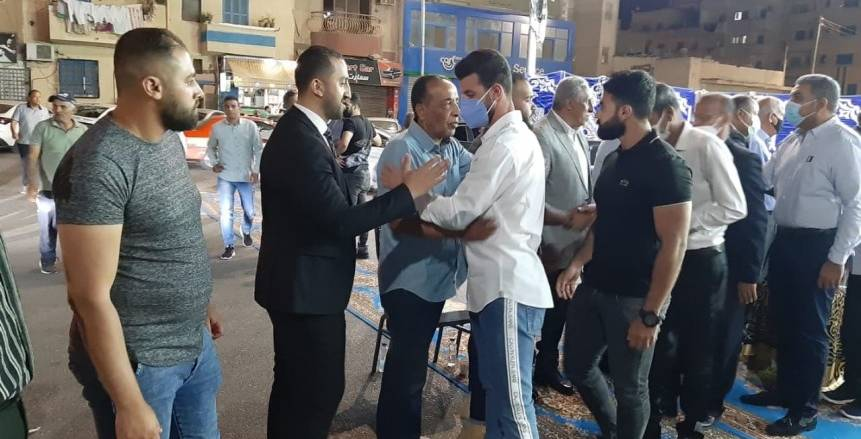 على رأسهم «حجازي ومتولي».. نجوم الإسماعيلي في عزاء عبدالرحمن أنوس