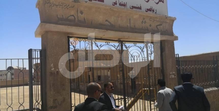 وزير الرياضة: محاسبة المقصرين فى أداء عملهم بمركز شباب حى ناصر بأسوان