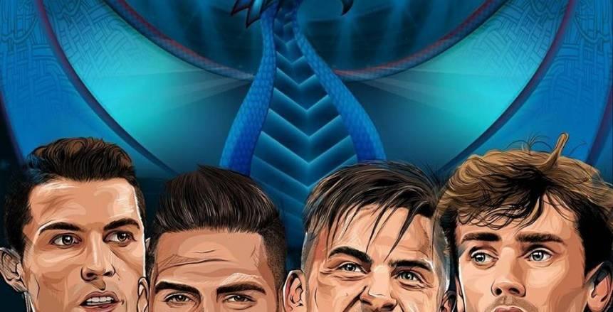 موناكو يصطدم بيوفنتوس.. وديربي مدريد في نصف نهائي دوري الأبطال