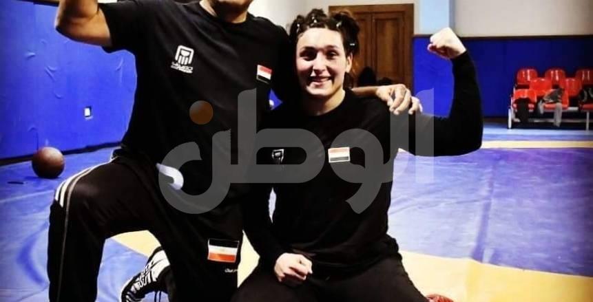 محمد طلبة:سمر حمزة لم تعتزل المصارعة وتحترم قرارات اللجنة الأولمبية