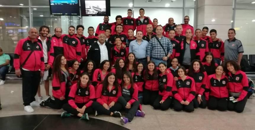 بعثة سباحة الأهلي تغادر القاهرة للمشاركة في بطولة بلغاريا الدولية