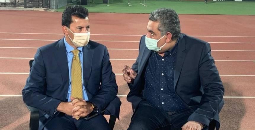 وزير الرياضة: تفاهم اللجنة الثلاثية مع الأندية في صالح المنتخب الوطني