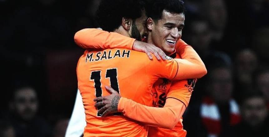ليفربول يستغل كوتينيو لحرمان برشلونة من ضم محمد صلاح