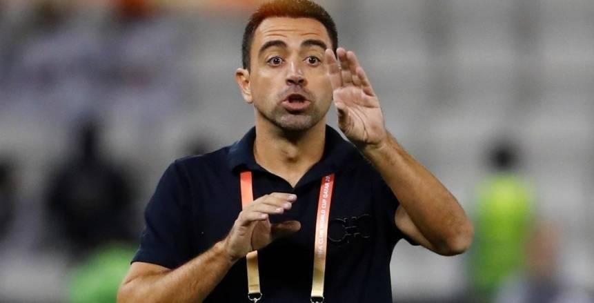 بعد اخفاق سيتين.. تشافي يلمح لاقترابه من تدريب برشلونة