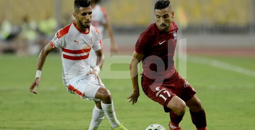 مباراة الزمالك والمقاصة في كأس مصر