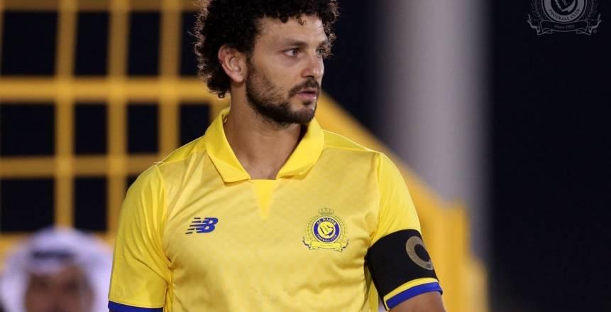 بالفيديو  لاعبي النصر السعودي يحتفلون مع حسام غالي بتأهل مصر للمونديال
