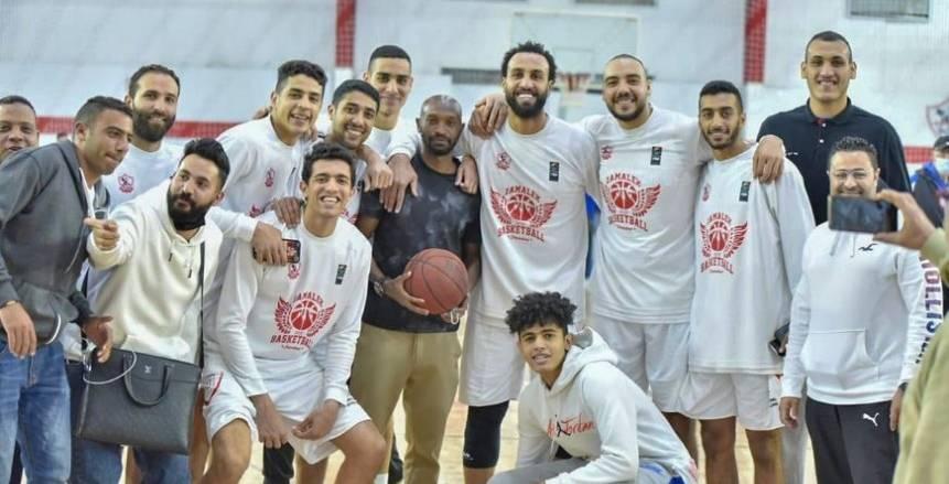 أبوفريخة: أحترم الزمالك.. وممنوع حضور لاعبي كرة القدم في مباريات السلة