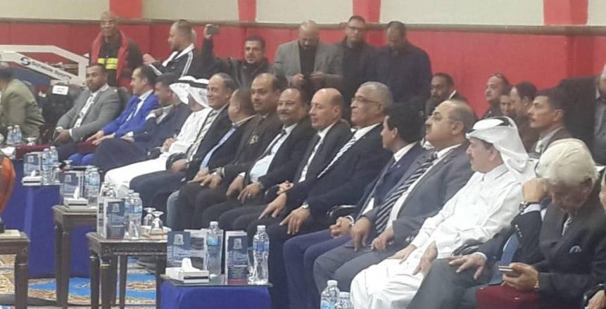 «صبحي» و«حطب» يحضران افتتاح البطولة العربية لـ«شباب الملاكمة»