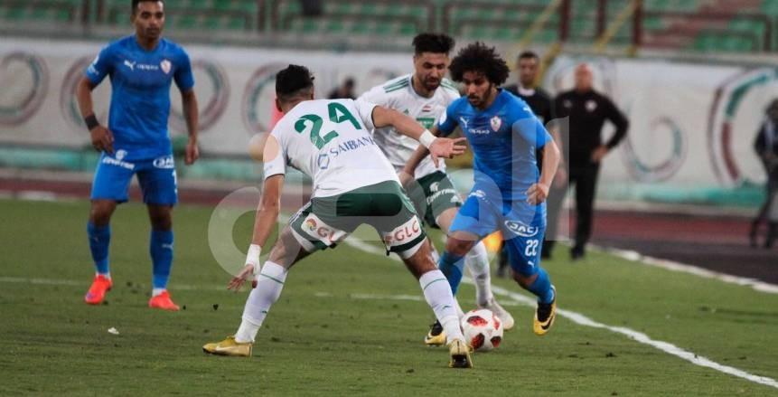 لقطات من فوز المصري على الزمالك بهدفين مقابل هدف في الدوري المصري