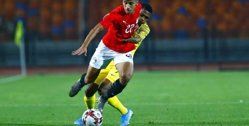 مصر الأوليمبي يفوز على جنوب أفريقيا