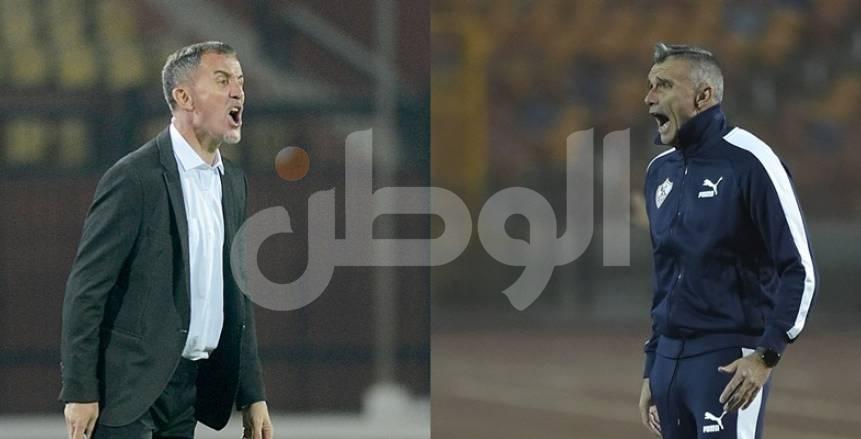 """""""الزمالك يرجع إلى الخلف"""".. الأرقام تكشف تفوق ميتشو على كارتيرون في الدوري المصري"""
