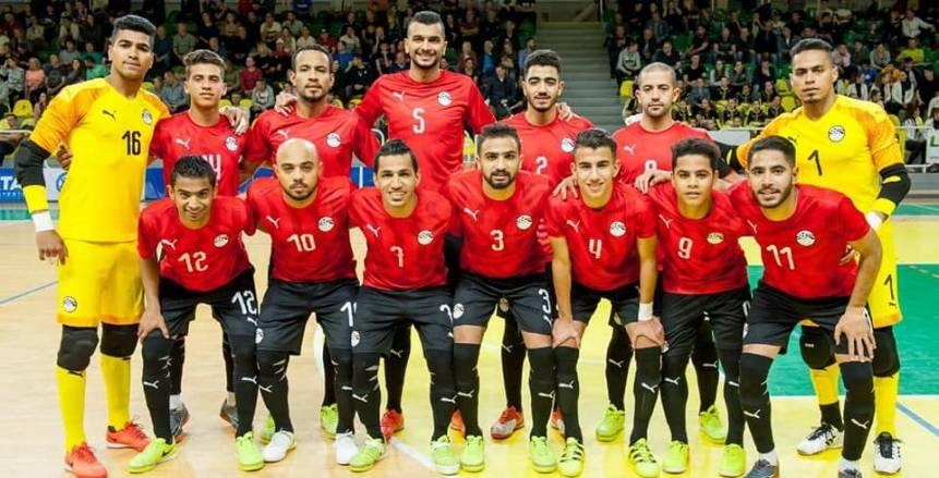مصر تكتسح جواتيمالا بسداسية في كأس العالم لكرة الصالات
