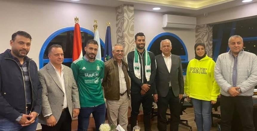 إعارة حسام حسن ومحمد الترهوني ثنائي سموحة إلى الأهلى الليبي رسميا