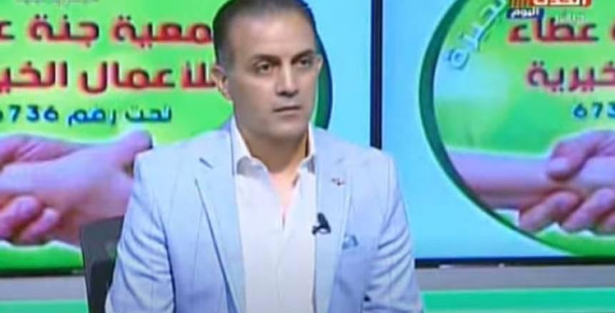 مالك «الحدث اليوم»: أحمد صالح سيكون ضيفا على برامجنا الرياضية المحايدة