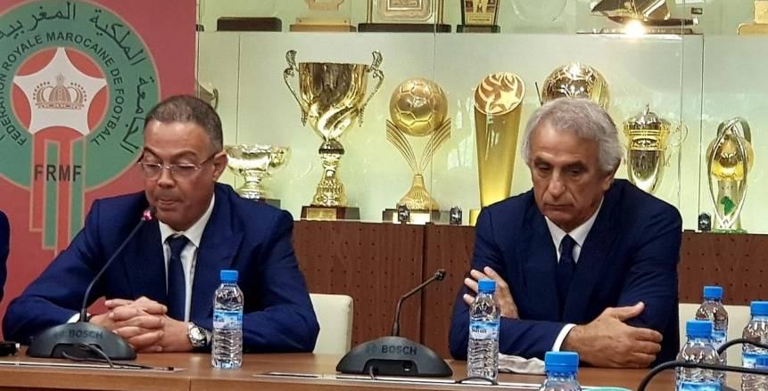 رسميا.. البوسني وحيد خليلوزيتش مديرا فنيا لمنتخب المغرب
