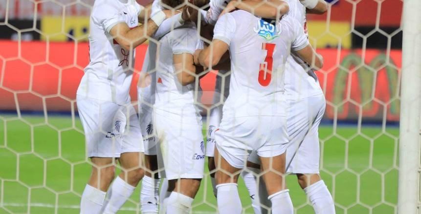 الزمالك يفوز على الإنتاج الحربي بثنائية في الدوري المصري
