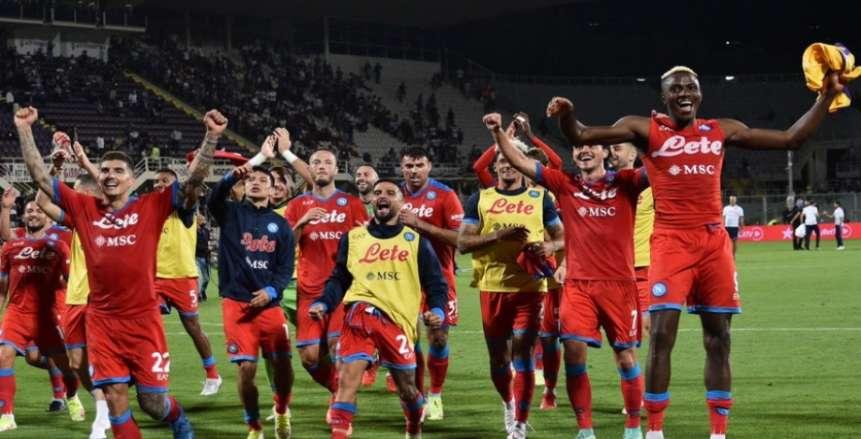 نابولي يخطف فيورنتينا بهدفين.. وروما يهزم إمبولي في الدوري الإيطالي