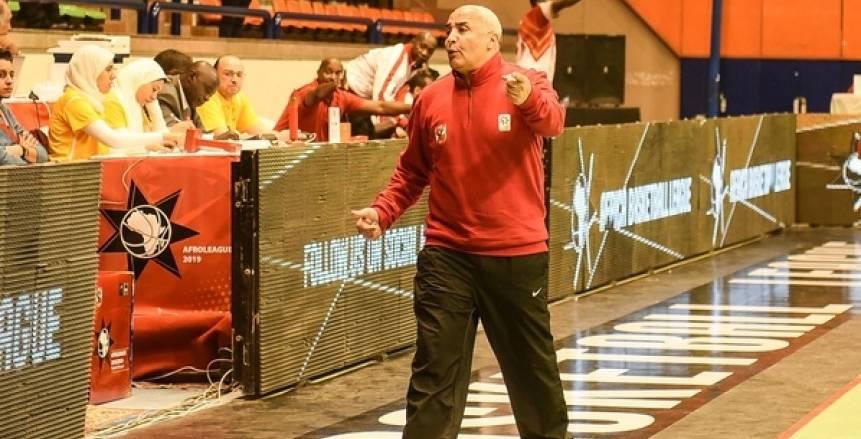 طارق خيري: روح الفانلة الحمراء سبب تأهل سلة الأهلي إلى ربع نهائي أفريقيا