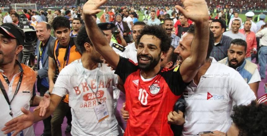 رئيس الفيفا يهنئ أبو ريدة بتأهل منتخب مصر للمونديال