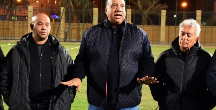بالصور.. «مصيلحي» يجتمع بـ«لاعبي» الاتحاد والجهاز الفني قبل مواجهة الهلال