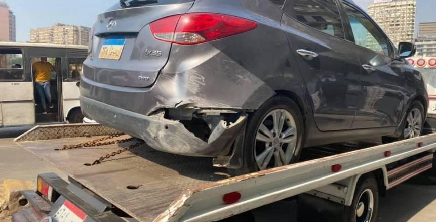 عاجل.. تعرض نجل مدرب منتخب مصر الأول لحادث سير (صور)