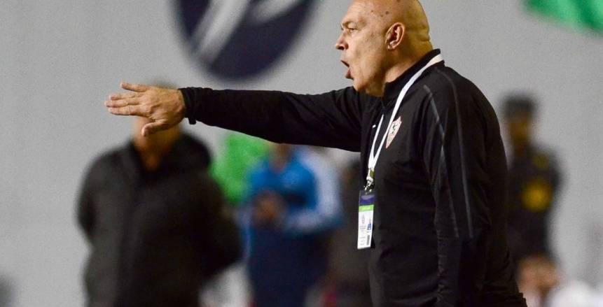 قبل مواجهة نصر حسين داي الجزائري| «جروس» يكشف عيوب لاعبي الزمالك