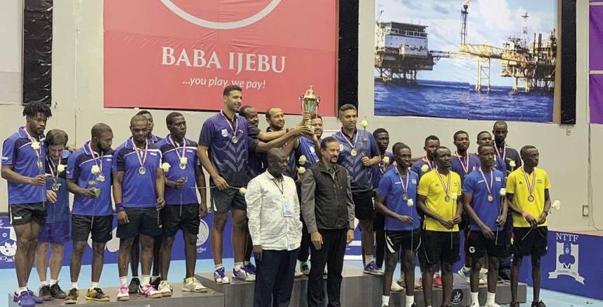 مصر على عرش أفريقيا في تنس الطاولة بحصد الميدالية الذهبية بنيجيريا
