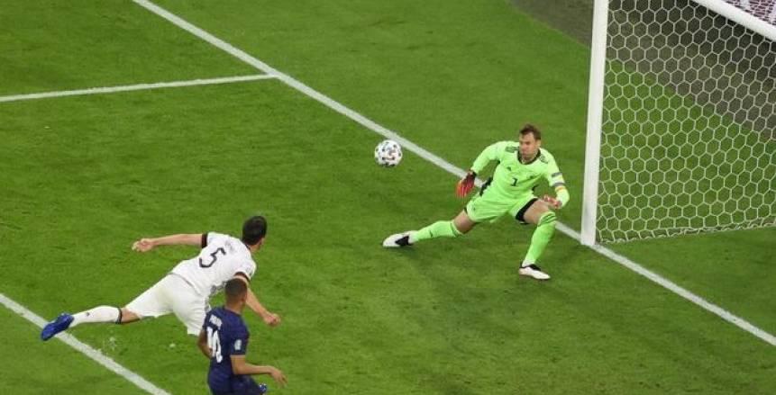 مباراة فرنسا وألمانيا في يورو 2020