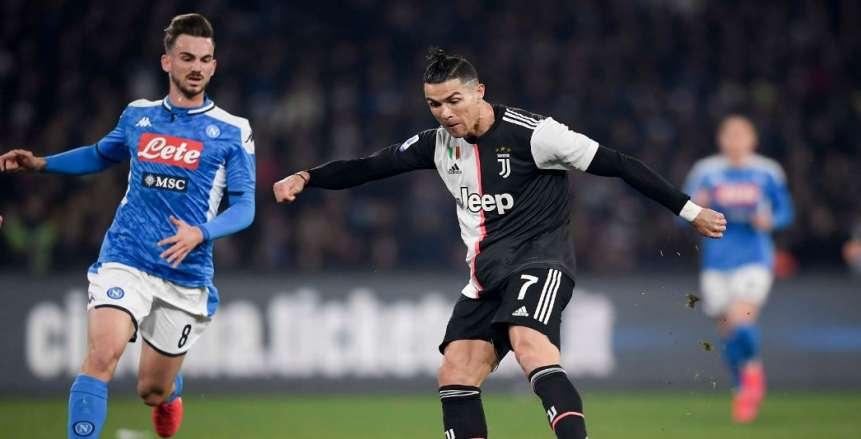 موعد مباراة يوفنتوس ونابولي اليوم في الدوري الإيطالي والقنوات الناقلة