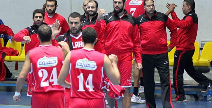 كرة السلة| الاتحاد السكندري في طريق الأهلي بكأس مصر