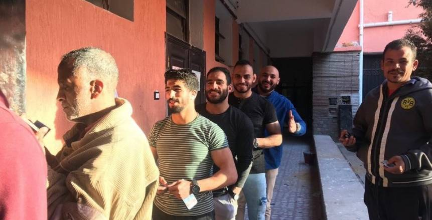 منتخب مصر للمصارعة يشارك في الاستفتاء على التعديلات الدستورية