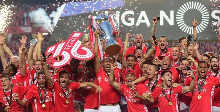 قمة بنفيكا وسبورتنج لشبونة ضمن أبرز مباريات اليوم