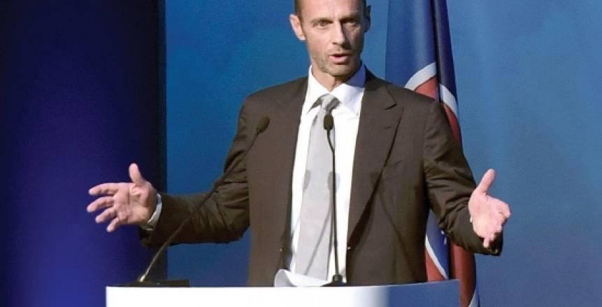 رئيس «يويفا» يعلن التحدي أمام كبار أوروبا: لن تلعبوا في «السوبر ليج»